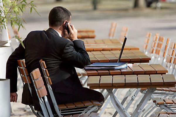 Home-Office verlängert oft die Arbeitszeit