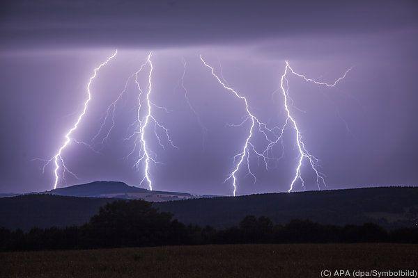 Gewitterstürme sorgten für Schäden