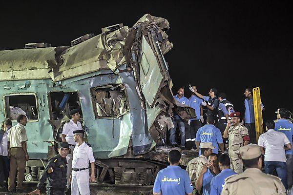Schwerstes Zugsunglück seit fünf Jahren in Ägypten