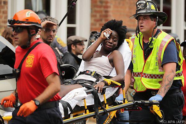 Dutzende Menschen wurden verletzt
