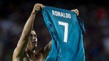 Ronaldo Supercup-Show für fünf Spiele gesperrt