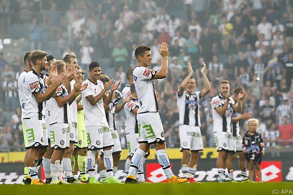 Sturm Graz feierte gegen Salzburg sechsten Sieg im sechsten Spiel