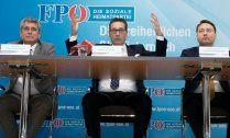 FPÖ mit 'Österreich zuerst'-Programm im Wahlkampf