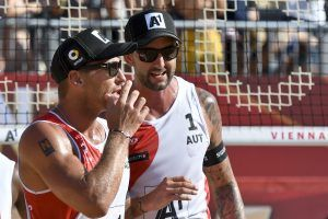 Beach-Volleyballer Doppler/Horst beim World-Tour-Finalturnier im Viertelfinale
