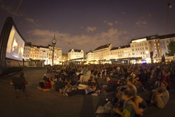 Ein beliebter Open Air Fixpunkt: Die Wiener Sommerkinos.