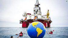 Greenpeace-Aktivisten aus Österreich verhaftet
