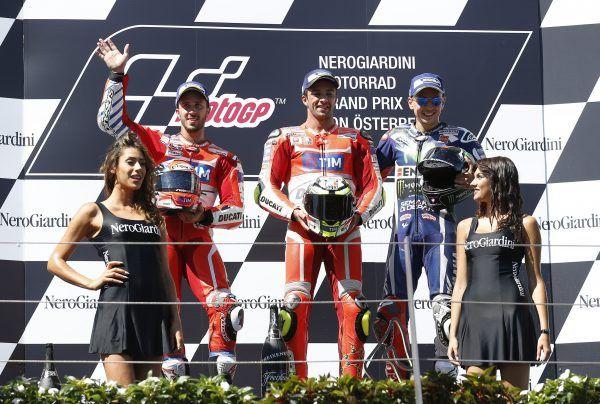 Andrea Iannone siegte 2016 auf dem Red Bull-Ring in Spielberg