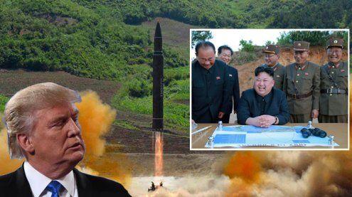 Konflikt droht zu eskalieren: USA heizt an, Nordkorea: Totaler Krieg