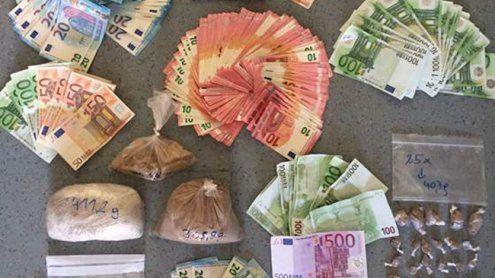 Wien: Halbes Kilo Heroin und über 10.000 € bei Dealern sichergestellt