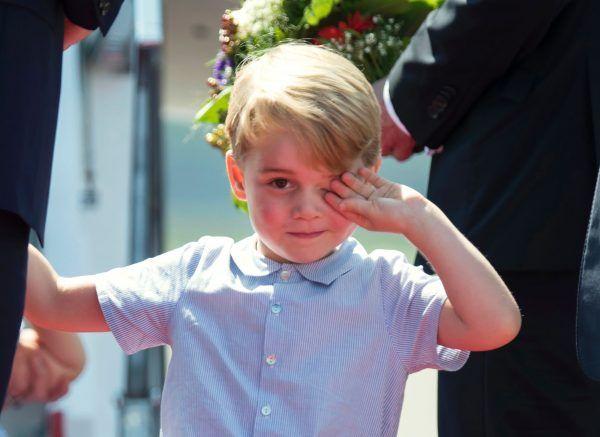 Der kleine Prinz George ist schon eine große Stilikone.