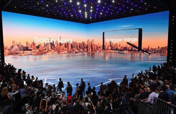 Das neue Samsung Galaxy Note 8 wurde präsentiert.