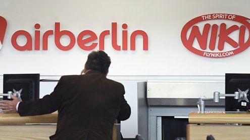 AUA und Co. profitieren bereits jetzt von der Air Berlin-Insolvenz
