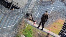 EU übernimmt Kosten von Grenzzaun nicht