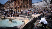 Rom erlebte heißesten Sommer seit 40 Jahren