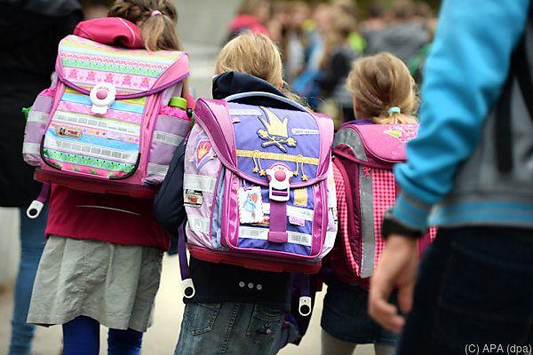 In diesem Schuljahr gibt es rund 1,12 Millionen Schüler