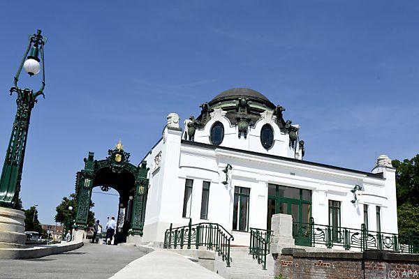 Otto-Wagner-Hofpavillon in Hietzing bildete eine der Kulissen
