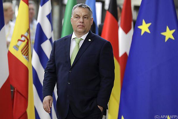 Auch Ungarns Haltung zur Flüchtlingsumverteilung ist Thema