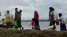 Rohingya-Flüchtlinge in desolatem Zustand