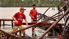 """Max"" überschwemmt 300 Häuser in Mexiko"