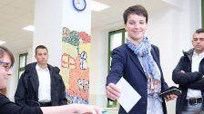 Rechtspopulistische AfD in Sachsen stärkste Kraft