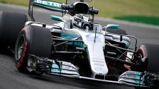 Mercedes gab am ersten Tag in Monza den Ton an