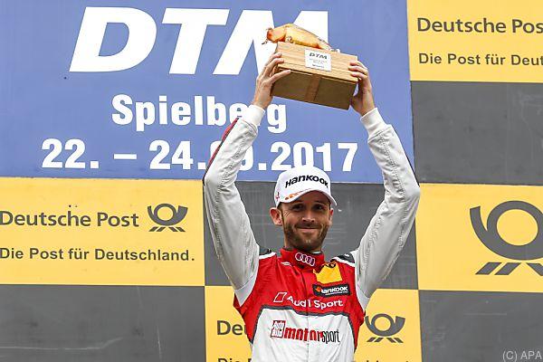 Audi-Pilot Rene Rast holt den Sieg im zweiten Spielberg-Rennen