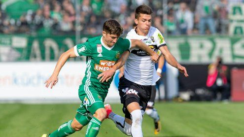 Ex-Altach-Spieler Galvao rettet Rapid last-minute im Ländle 2:2
