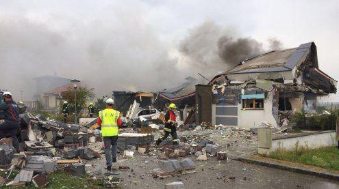 Einfamilienhaus in Hollabrunn explodiert: Frau schwer verletzt