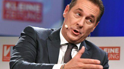 Strache will ins Innenministerium