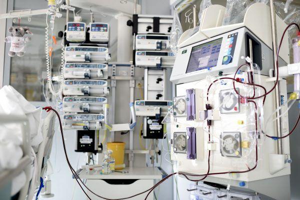Einige Patienten mussten in die umliegenden Kliniken verlegt werden.