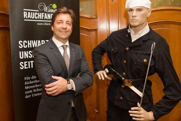Die Wiener Rauchfangkehrer sprachen bei einer Pressekonferenz über CO-Unfälle