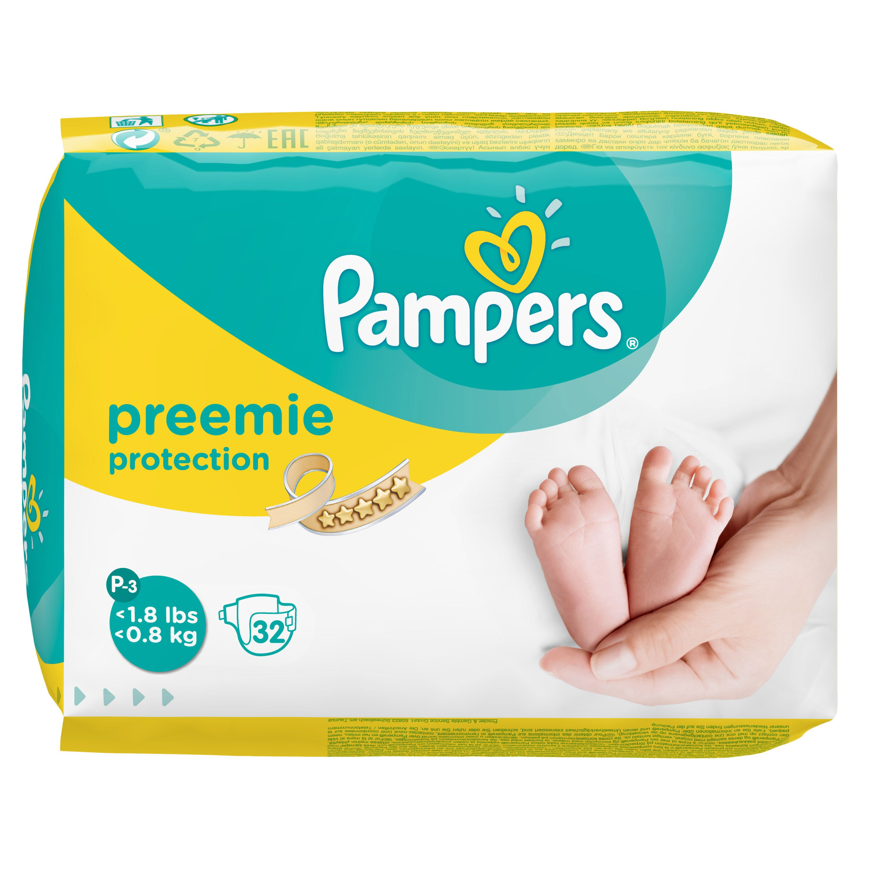 Pampers Preemie Protection P-3