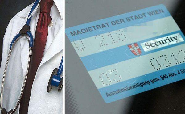 Die Wiener Ärztekammer fordert ein Parkpickerl für Ärzte in Wien