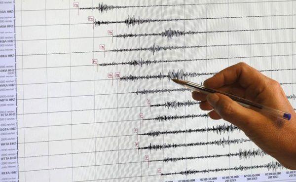Am Sonntag hat sich ein leichtes Erdbeben ereignet.