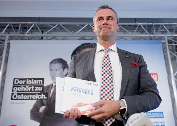 Norbert Hofer stellte das Wahlprogramm der FPÖ zur Nationalratswahl vor.
