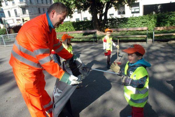 """Wien darf sich nun """"Sauberste Stadt Österreichs 2017"""" nennen"""