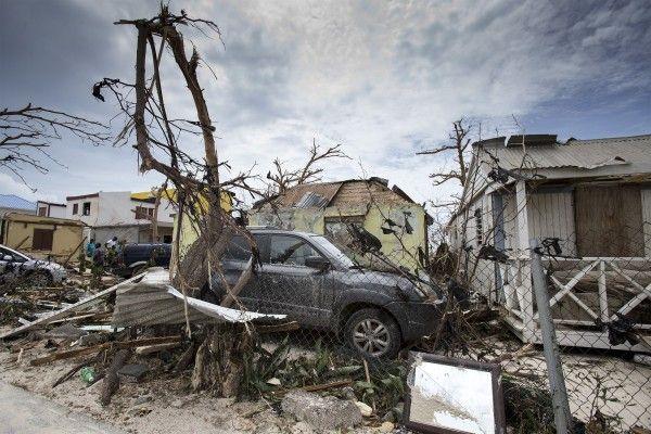 Schon Hurrikan Irma hinterließ enorme Schäden.