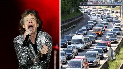 Anreise zum Rolling Stones-Gig: Tipps für Auto, Bus und die Bahn