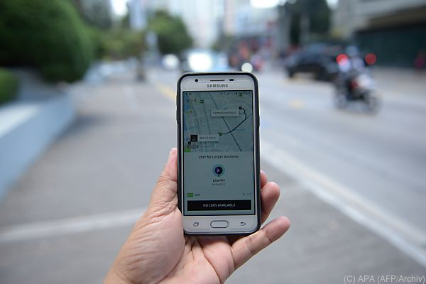 Die Uber-App dürfte nicht rechtskonform sein