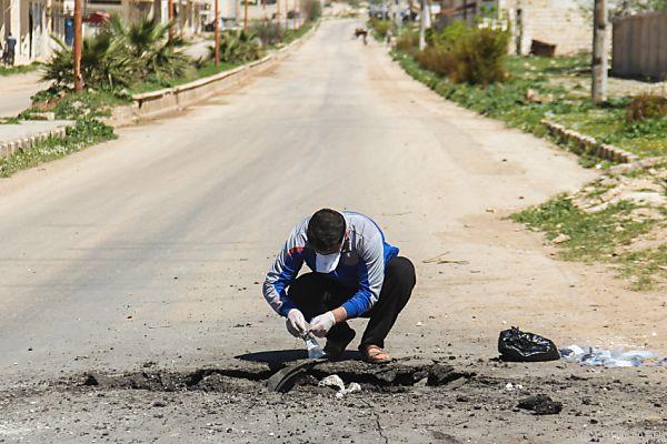 Syrien leugnet Einsatz von Chemiewaffen
