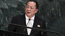 Nordkorea sieht USA laut Agentur auf Kriegskurs