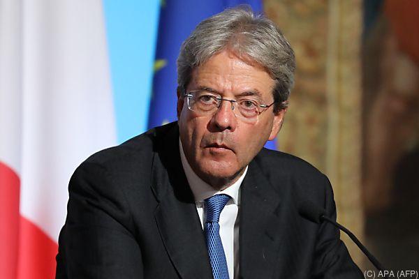 Erfolg für Premier Paolo Gentiloni