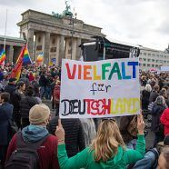 Anti-AfD-Demonstration in Berlin