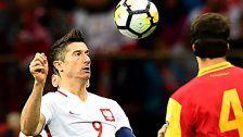 Lewandowski schießt Polen zur Fußball-WM