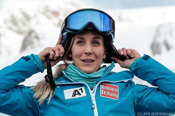 Eva-Maria Brem ist zuversichtlich für den Olympiawinter