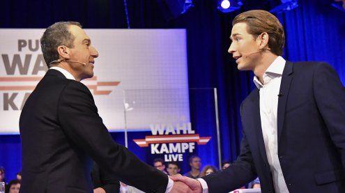 Kern gegen Kurz: Hartes TV-Duell