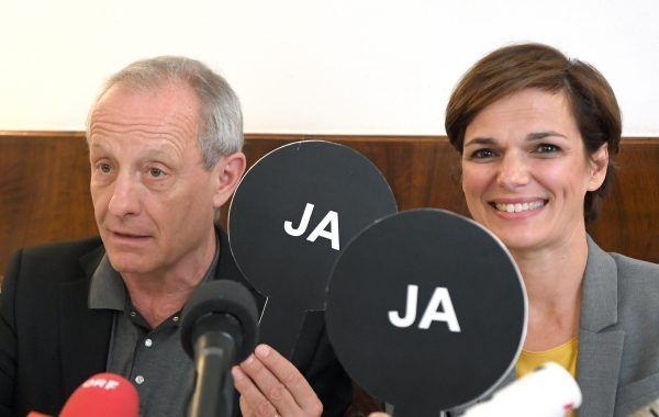 Listengründer Peter Pilz und SPÖ-Frauenministerin Pamela Rendi Wagner