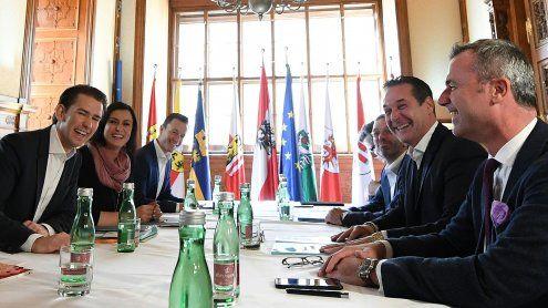 ÖVP-FPÖ: 1. Koalitionsgespräch