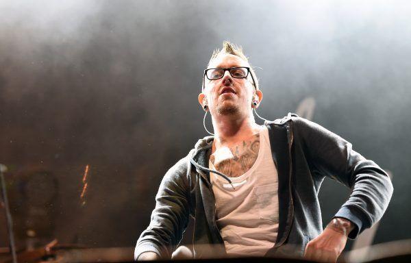 Bernhard Speer während eines Auftritts am Nova-Rock-Festival.