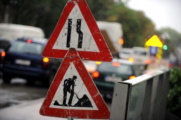 In der Brünner Straße finden Bauarbeiten am Wochenende statt